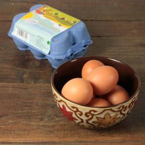 Huevos ecológicos 1/2 docena TOMATOMATES